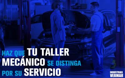 Haz que tu taller mecánico se distinga por su servicio